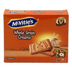 McVities Whole Grain Creams Hazelnut Biscuit 300g