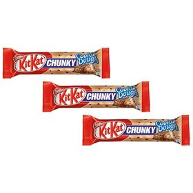 Pack Of 3 KIT KAT CHUNKY COOKIE DOUGH 42G Each