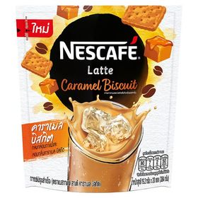 Nescafé Latte Caramel Biscuit Coffee Mix 19.2g x 20 Sticks
