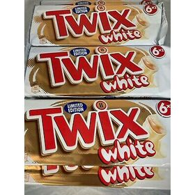 Mars Twix White Chocolate Bar 46 g - Pack of 3