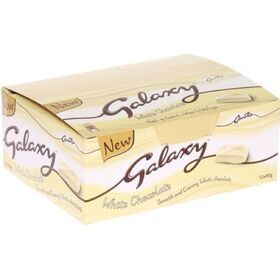 Galaxy White Chocolate Bar 38g x24pcs
