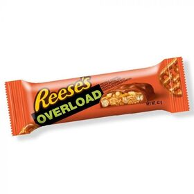 REESES OVERLOAD CHOCOLATE BAR 42G