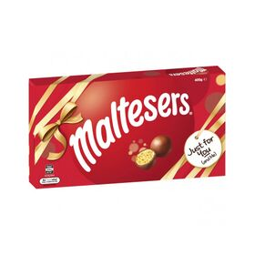 Maltesers Milk Chocolate Gift Box 400g (Expiry month October 2020)