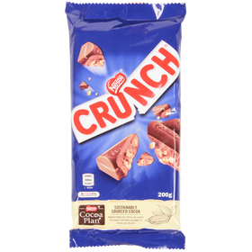 Nestle Crunch Milk Chocolate 200g