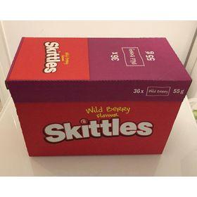 Skittles Wild Berry 36 Bags X 45g
