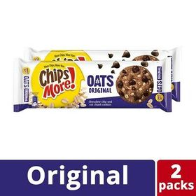 Chipsmore Oats Original Cookies (163.2g x 2 Packs)