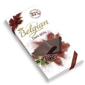 The Belgian 85% Dark Bar Chocolate, 100g