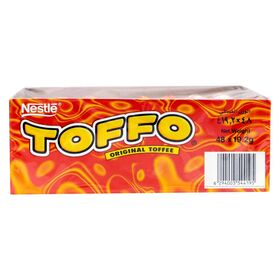 Nestle Toffo Original Toffee Box (48 X 19.2g), 921.6g