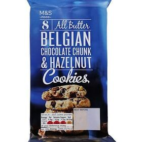 Marks and Spencer All Butter Belgian Chocolate Chunk Cookies 225G