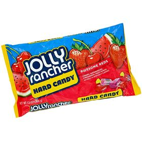 Jolly Rancher - Awesome Reds Hard Candy Assortment, 368 Grams