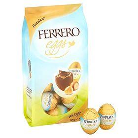 Ferrero Egg Milk Chocolate Wafer With Hazelnut Filling Pouch 100g