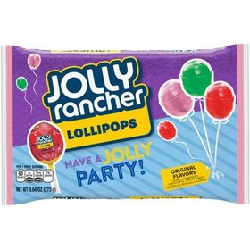 Jolly Rancher Lollypops, Original flavors 273g