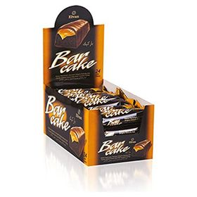Elvan Turkey Caramel Chocolate Cocoa Coat Cake Bars With Cream filling 480 gm