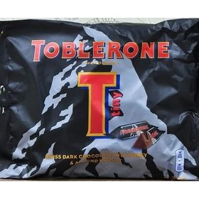Toblerone Tiny Swiss Dark Chocolate With Honey and Almond Nougat Packet, 200g