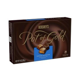 Hershey's Pot Of Gold Assorted Milk & Dark Chocolates Premium Collection Box, 283g/ 28 Pieces