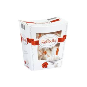 Ferrero Raffaello Coconut and Almond White Chocolate Truffles Gift Box, 230g