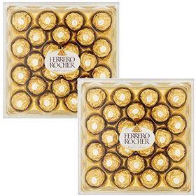 Ferrero Rocher, 24 Pieces ( Pack of 2 )