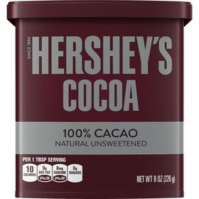 Hershey's 100% Cocoa Natural Unsweetened (Imported), 226 g
