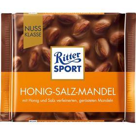 Ritter Sport Honey, Salt and Almond Chocolate 100gms, 100g