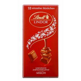 Lindt Lindor Irresistibly Smooth Milk Chocolate 100g Bar