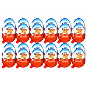 Kinder Joy Chocolates for Boys, 24 Pieces