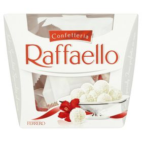 Ferrero Raffaello Coconut and Almond White Chocolate Truffles Gift Box, 150g