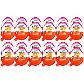 Kinder Joy Chocolates for Girls, 24 Pieces