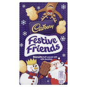 Cadbury Festive Friends Biscuits