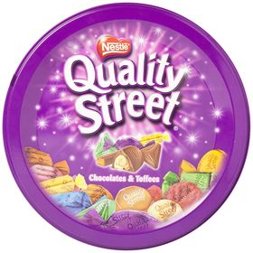 Nestle Quality Street Toffees - Assorted, 480g Tin