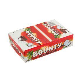 Bounty Dark Coconut Chocolate Bars - 24 x 57g