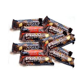 Bravo Caramel Chocolate Premium Crispy Imported 300 gm Pack of 12