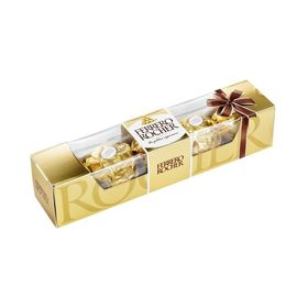 Ferrero Rocher Made In Italy Milk Chocolate Milk Hazelnuts 5 Chocolate PAck 80 gm