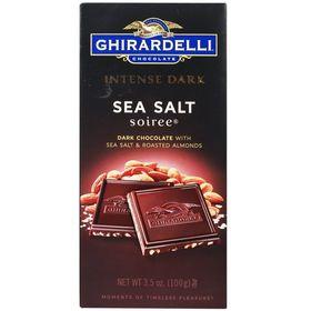 Ghirardelli Intense Dark Sea Salt Soiree Dark Chocolate, 100g