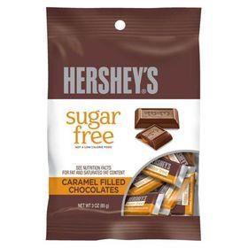 Hershey's Sugar Free Center Filled Chocolate Sugar-Free Caramel Filled 85 gm