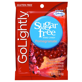 GoLightly Pomegranat Sweetened with Splenda Hard Candies 78 gm