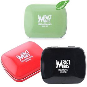 Impact Mints Pack Of Three, Honey Melon, Fresh Mints and Strawberry Flavors 14Gms Each
