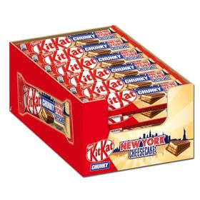 Box Of 24pcs of Kit Kat Chunky New York Cheesecake 1008 Gms