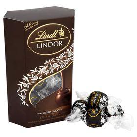 Lindt Lindor - Extra Dark Chocolate Truffles - 200 Grams