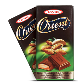Tayas Orient Almond Chocolate 80gms