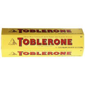 Toblerone 6 Packs of 100gms Swiss Chocolates