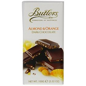 Butlers Almond & Orange Dark Chocolate, 100g