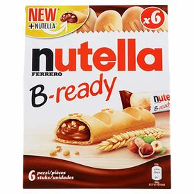 Ferrero Nutella B-ready, 132g, Free ChoocKick Eco Friendly Pen