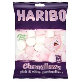 Haribo Chawmallows, 150g Pink and White Premium Soft Marshmallows