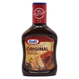Kraft Barbecue Sauce Original Slow-Simmered- 510g