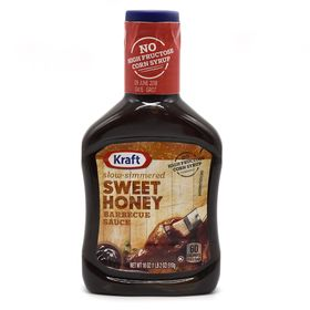 Kraft Barbecue Sauce Sweet Honey Slow-Simmered- 510g