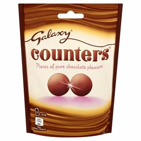 Mars Galaxy Counters Small Chocolate Mini Balls Pouch (112 g)