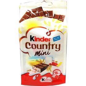 Kinder Country Mini 18 Pcs 97g