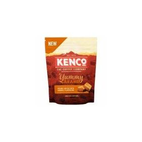 Kenco Caramel Instant Coffee with Caramel Flavour Barista Edition Packet, 66g