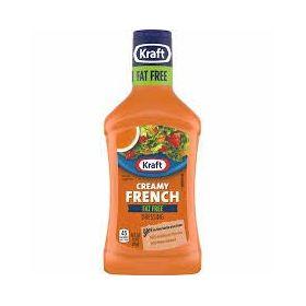 Kraft Fat Free Creamy French Dressing, 473ml