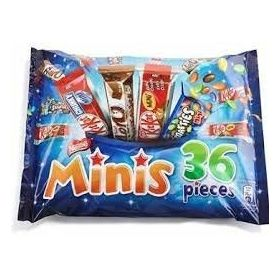 Nestle Minis 36 Pcs, 480g and Silver Plated Coin